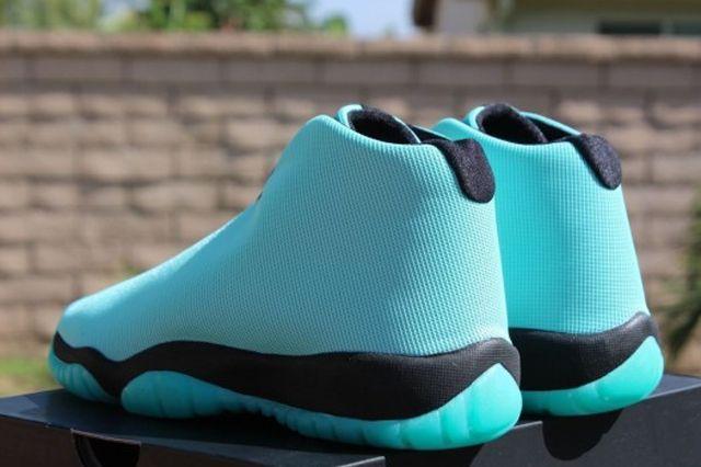 Air Jordan Future Gs Bleached Turquoise 4