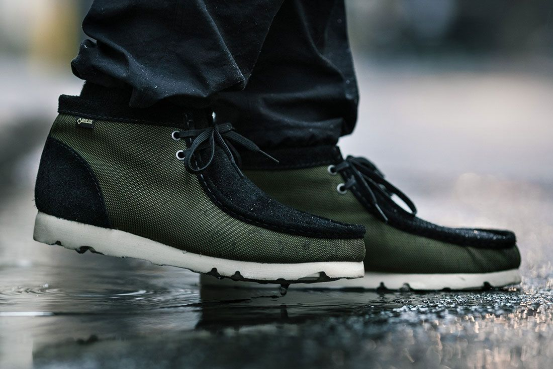 Clarks Wallabee Gore Tex Haven On Foot
