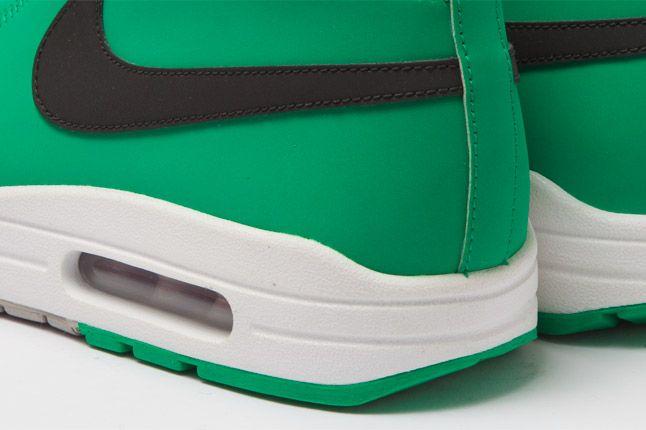 Nike Wardour Max 1 Txt Stadium Green Heel Details 1