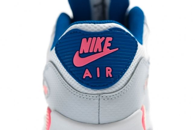 Nike Air Max 90 Gs 2007 Hyperblue Digipink Heel Detail 1