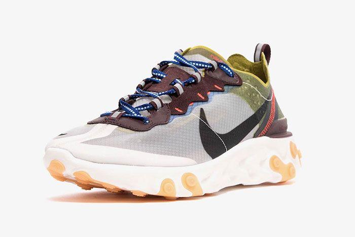 Nike React Element 87 Moss Toe