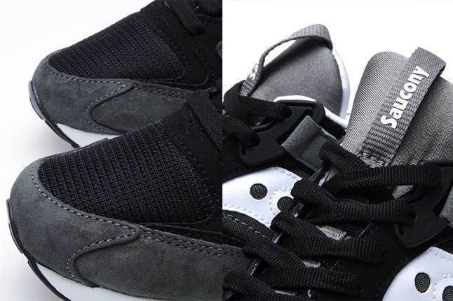 Saucony Grid 9000 Premium Pack Black Grey 4 1
