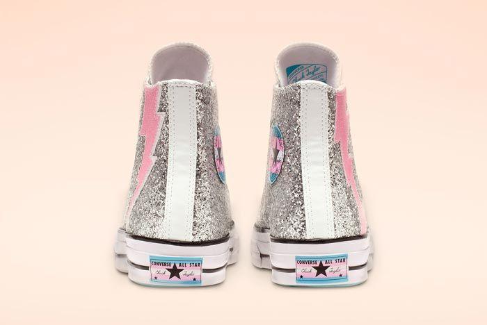Chuck 70 Pride High Top Glitter Heels
