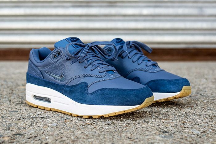 Nike Air Max 1 Jewel Womens Blue 5