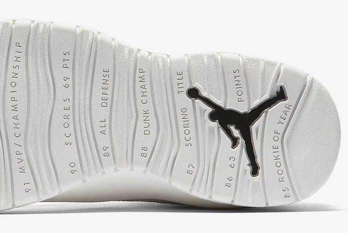 Air Jordan 10 Im Back Summit White Black 2