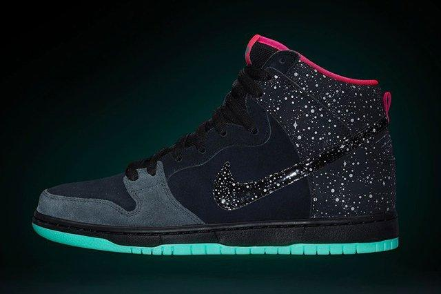 Nike Sb Dunk Hi Premium Northern Lights Bump 1