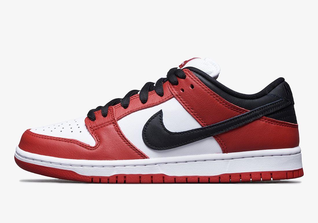 Nike SB Dunk Low Pro Chicago Left