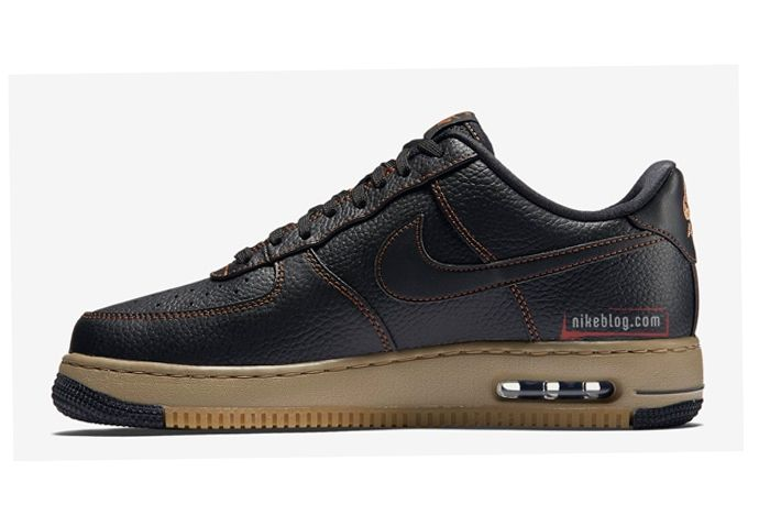 Nike Af1 Elite Black Tan 4