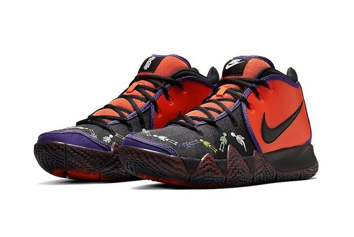 Nike Kyrie 4 Day Of The Dead 2
