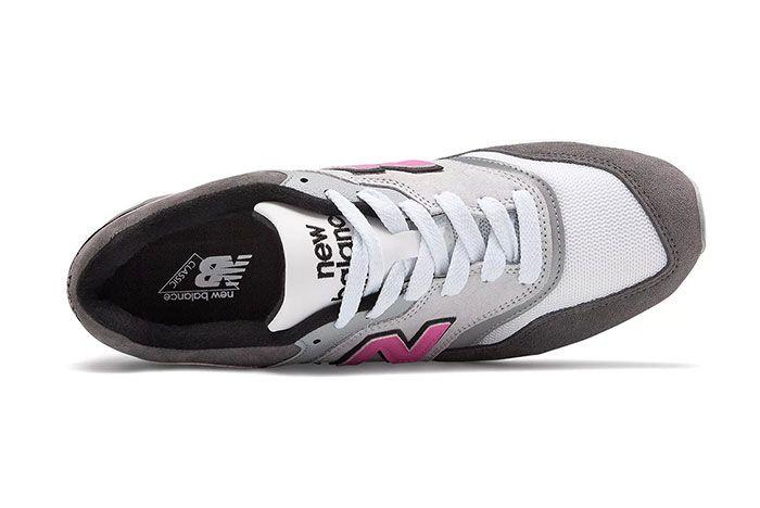 New Balance 997 Lbk Made In Usa Grey Pink Top Shot