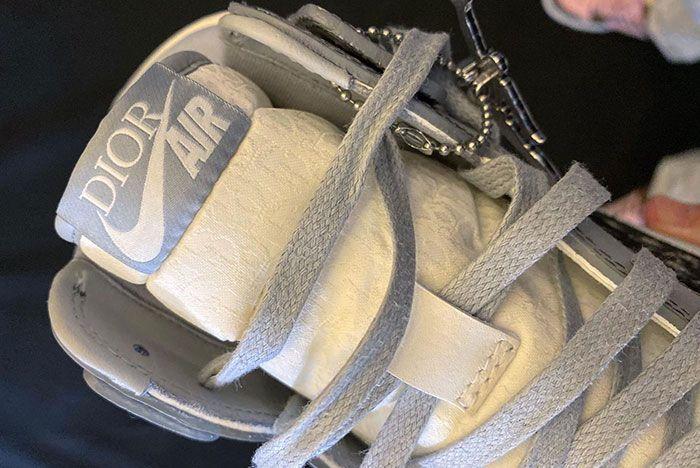 Air Dior Air Jordan 1 Daniel Arsham Leak Shots4