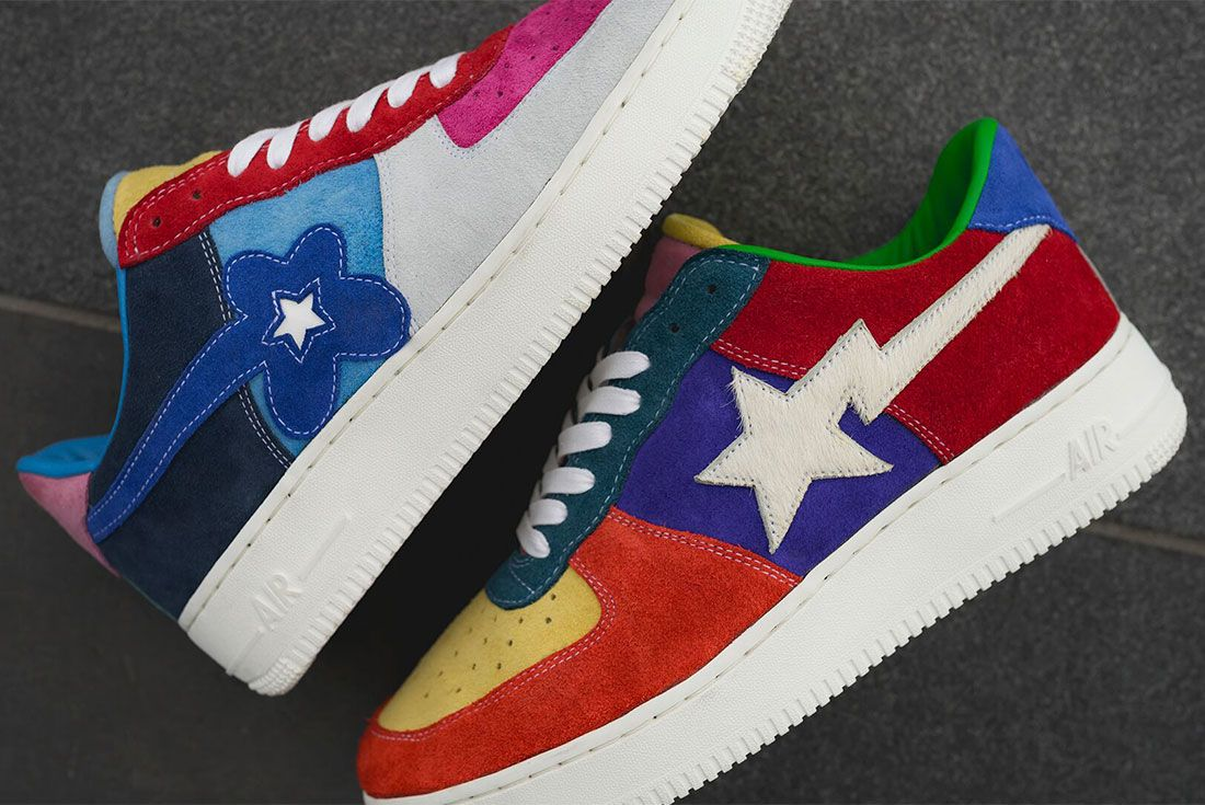 Bespoke Ind Easter What The Swoosh Air Force 1 On Foot11