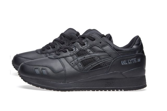 Asics Gel Lyte Iii Triple Black Bumper 2