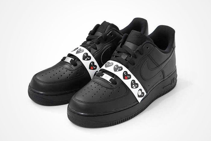 Comme Des Garcons X Nike Air Force 1 2