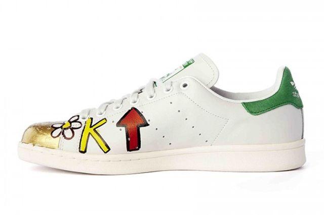 Pharrell Williams Hand Painted Adidas Originals Stan Smith 11
