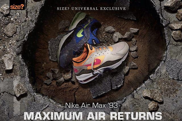 Size Air Max 93