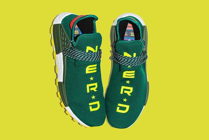 Bbc Nyc Exclusive Pharrell Adidas Hu Nmd Nerd 1
