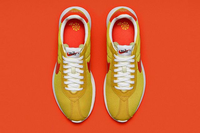Nike Roshe Ld 1000 Fragment Design Yellow Orange 2