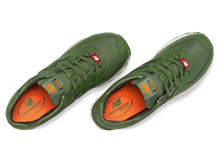 New Balance 574 Flight Jacket Green 2
