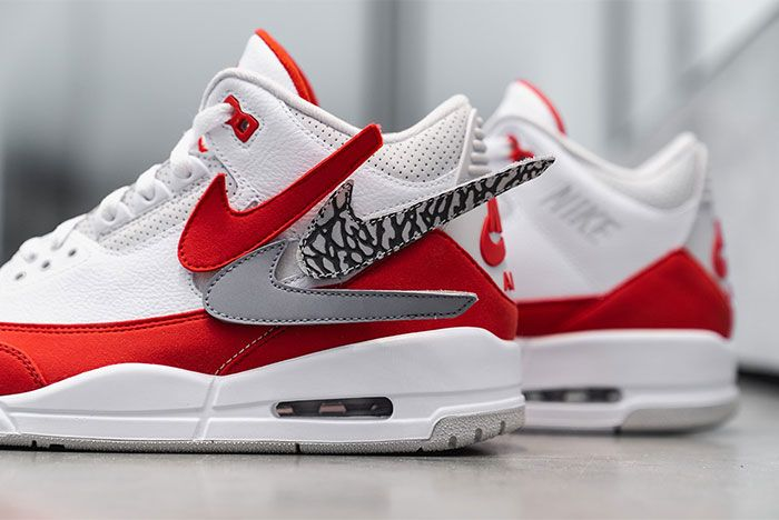 Air Jordan 3 Tinker Nike Air Max 1 Closer Look Detail