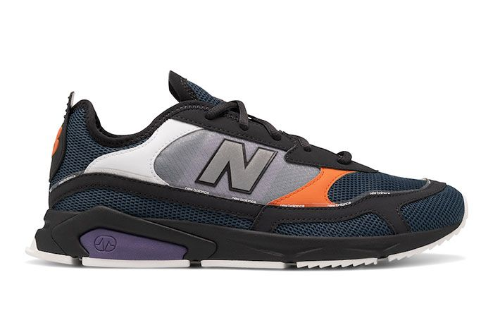 New Balance X Racer Black Lateral