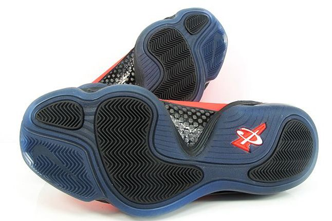 Nike Air Penny V Crimson Black Carbon Sole 1