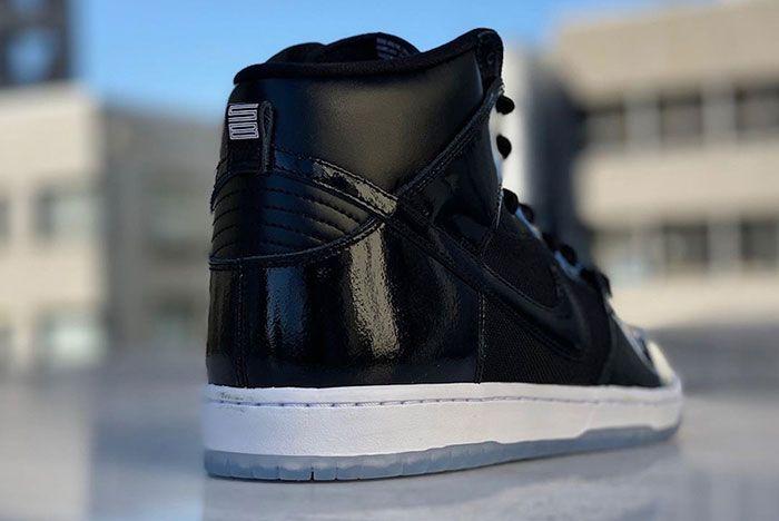 Nike Sb Dunk High Space Jam Release Date Heel