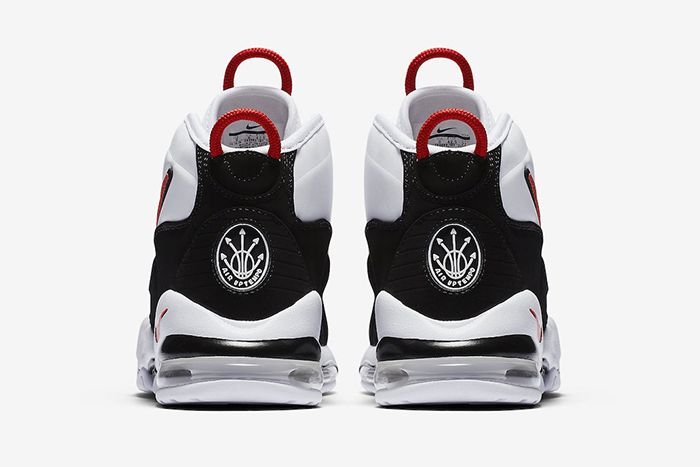 Nike Air Max Uptempo 95 Og White Black Red Ck0892 101 Release Date Heel