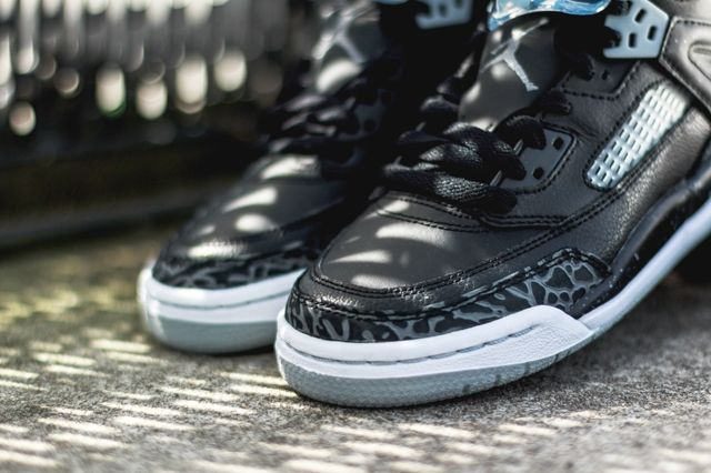 Air Jordan Spizike Black Wolf Grey 4