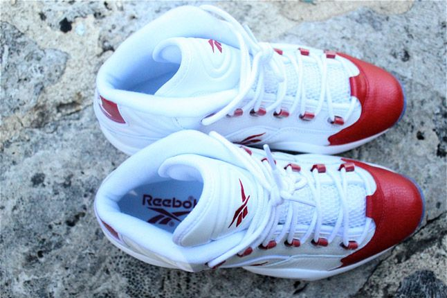Reebok Question Red Toe 10 1