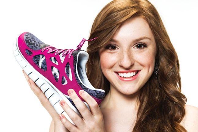 Doernbecher Nike Free Pink Kylie 1