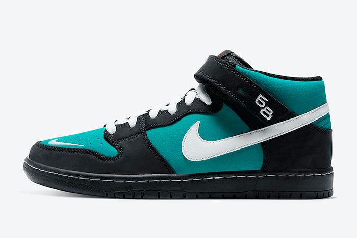 Nike Sb Dunk Mid Griffey Cv5474 001 Lateral