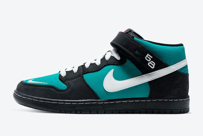 Nike Sb Dunk Mid Griffey Cv5474 001 Lateral