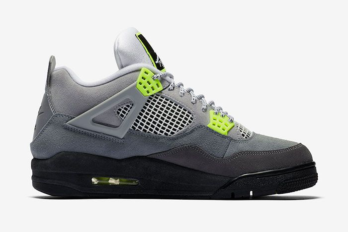Air Jordan 4 Neon Right
