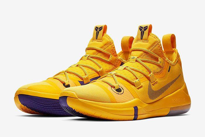 Nike Kobe Ad Lakers Gold Ar5515 700 3
