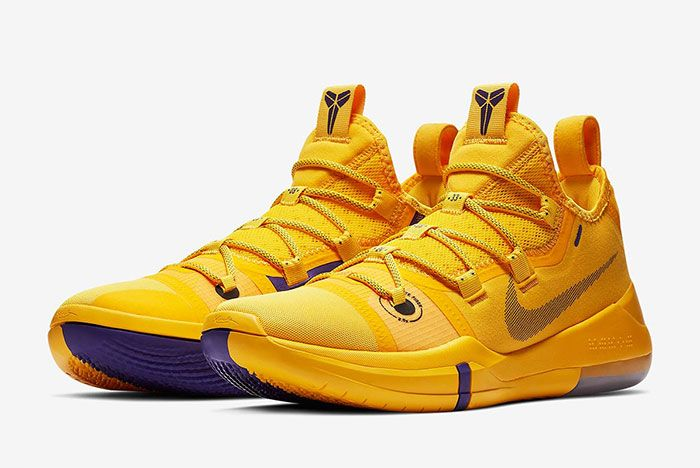 Nike Kobe Ad Lakers Gold Ar5515 700 3