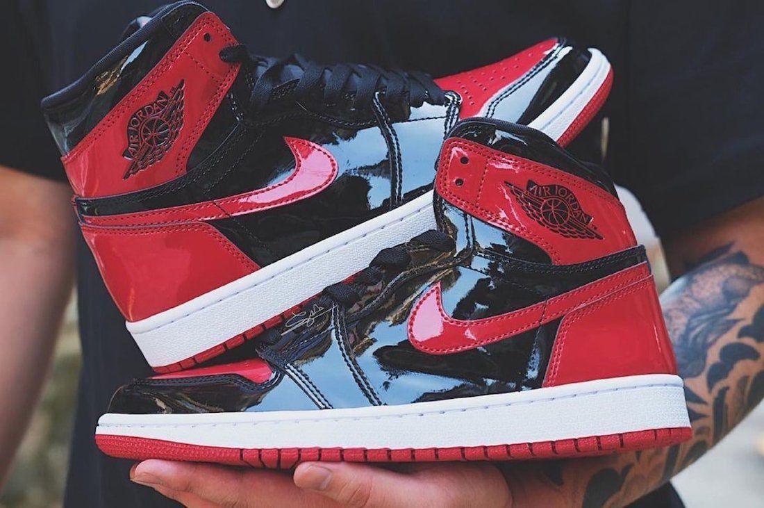 Closer Look: Air Jordan 1 'Patent Leather'