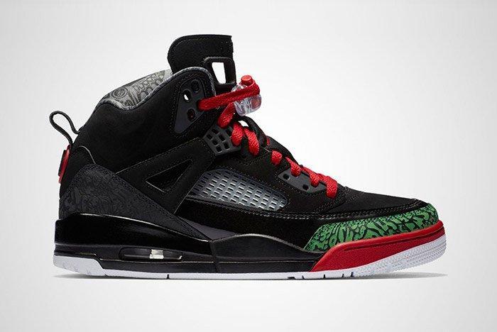 Jordan Spizike Black Red 1