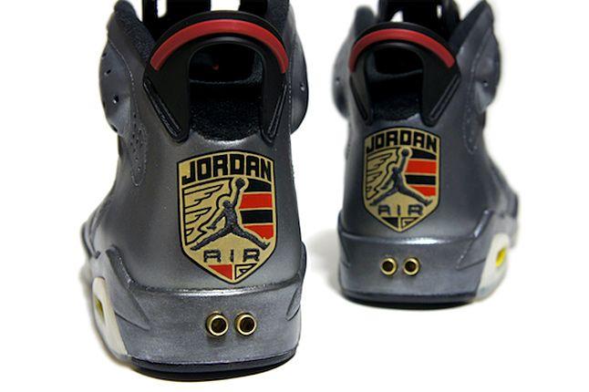Air Jordan Vi Porsche Custom 06 1