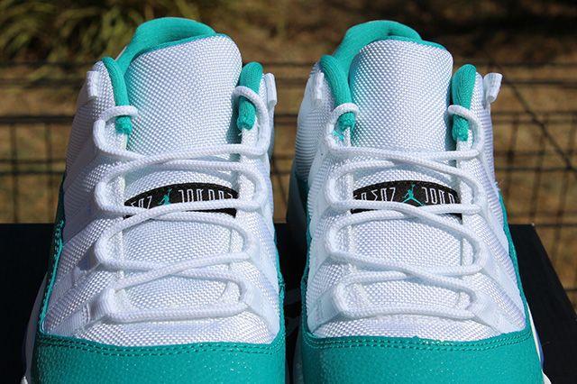 Air Jordan 11 Low Turbo Green 8