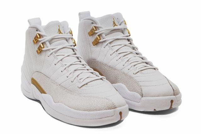 Drake Air Jordan Octobers Very Own White 12 Angle