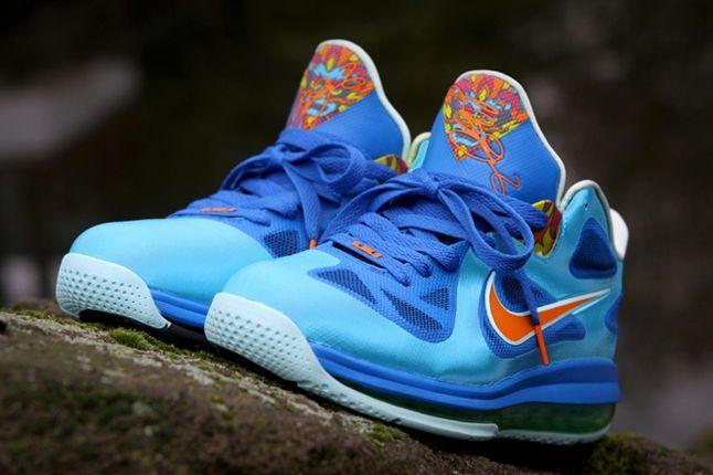 Nike Lebron 9 Custom By Kurtzastan Pair 1