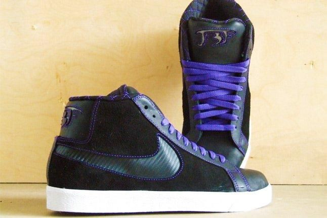 Jbf Custom Nike Sb Blazer Shadow 1