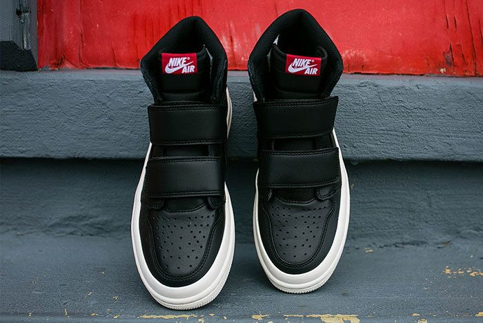 Air Jordan 1 Double Strap Black Sail 1 Sneaker Freaker