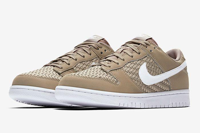 Nike Sb Dunk Low Woven Khaki 3