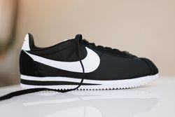 Nike Cortez Nylon Black White Thumb