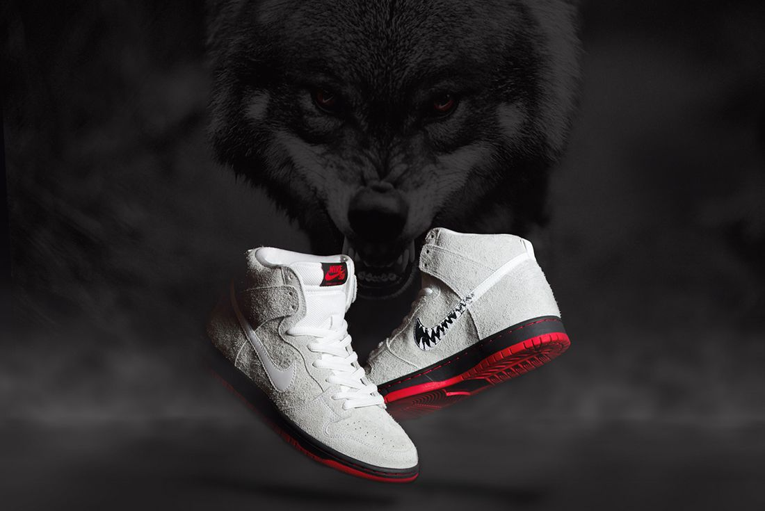 Black Sheep X Nike Sb Dunk High Wolf In Sheeps Clothing5