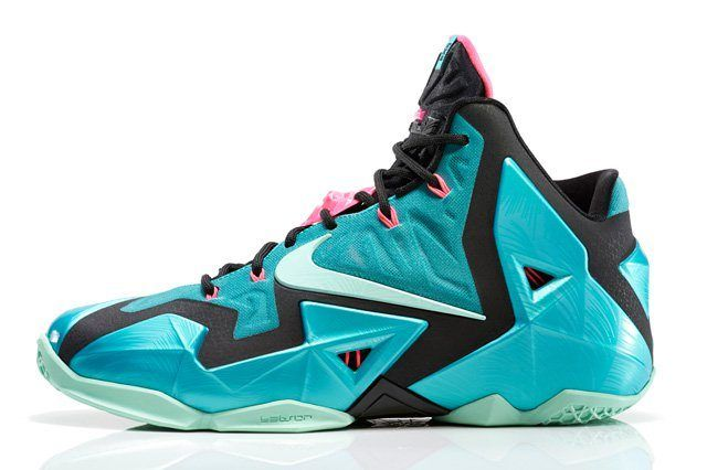 Nike Lebron 11 South Beach Official Thumb
