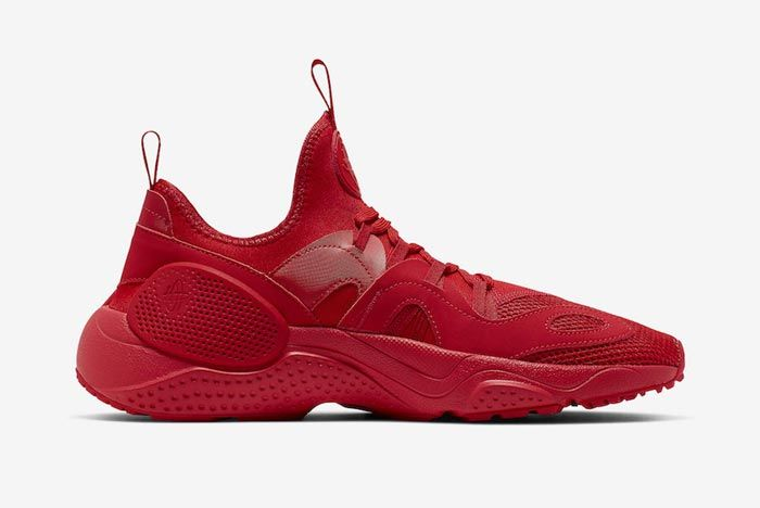 Nike Huarache Edge Txt University Red Medial