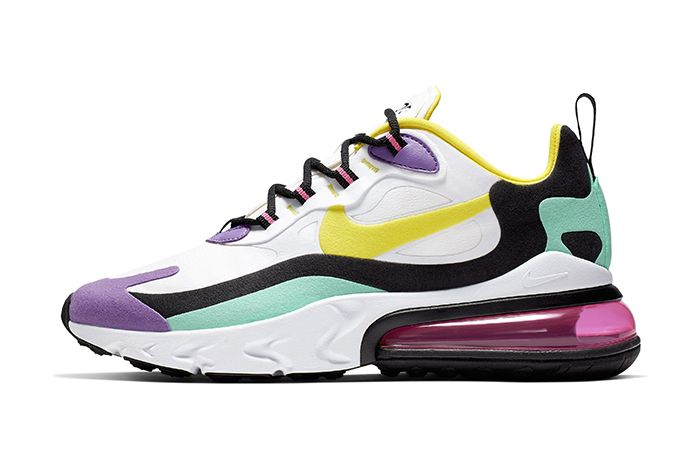 Nike Air Max 270 React Purple Release Date Lateral